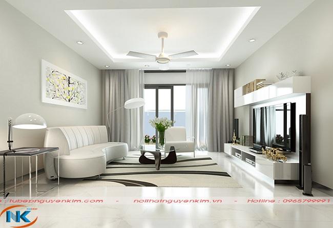 Thiết kế mở giúp không gian sống rộng rãi, đẹp tinh tế hơn