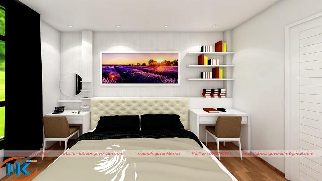 Cách bố trí phòng ngủ cân xứng, tuyệt vời
