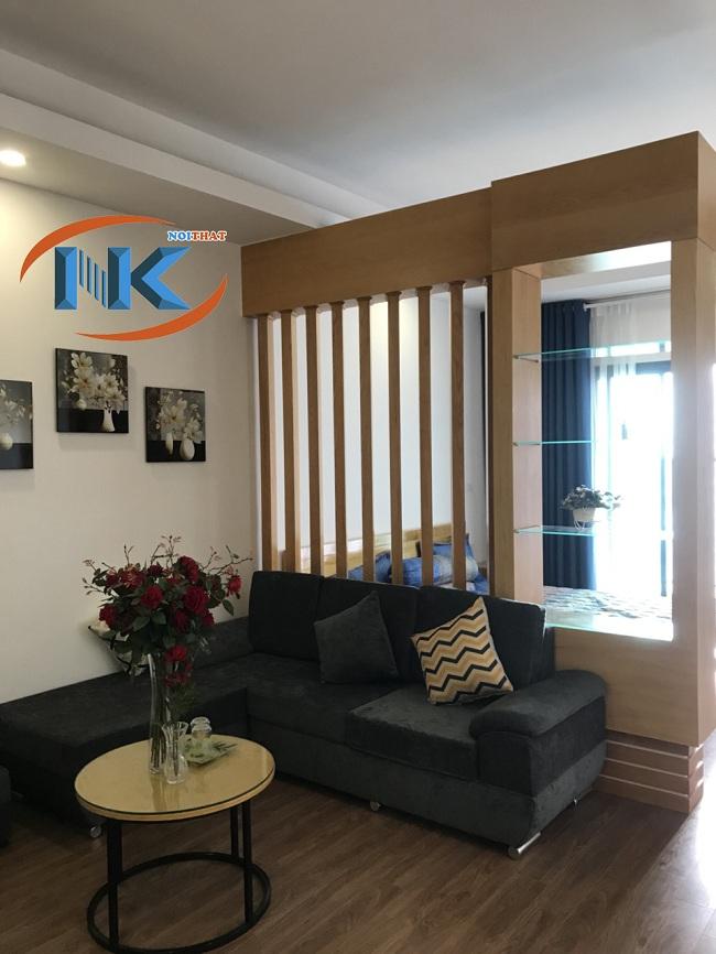 Hình ảnh thực tế phòng khách nhà khách hàng của Nguyễn Kim