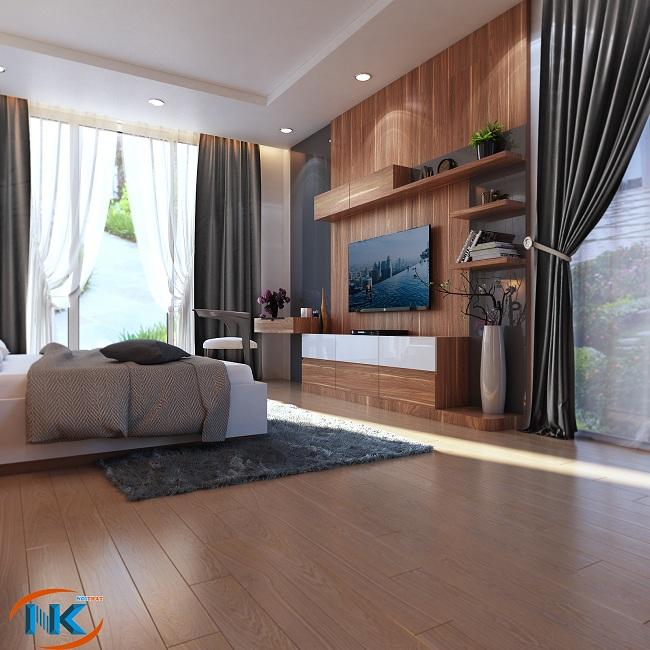 Thêm phần kệ tivi cho phòng ngủ hấp dẫn, đẹp tinh tế