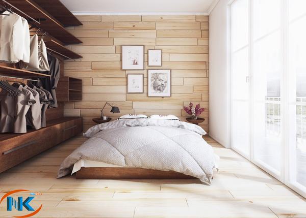 Phòng ngủ hiện đại, tạo cảm giác rộng rãi