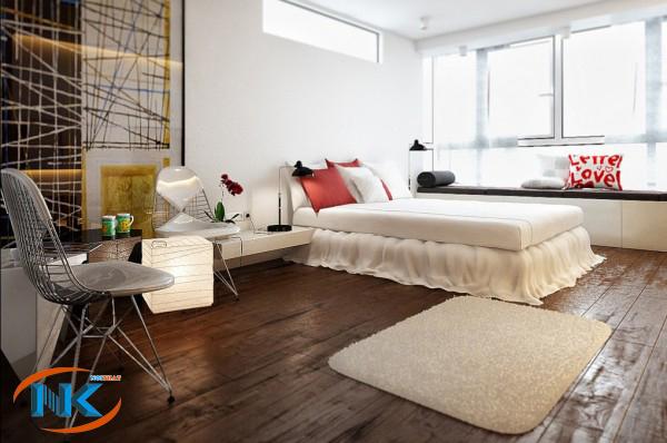 Mẫu phòng ngủ hiện đại bởi cách trang trí