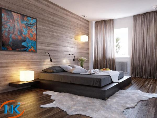 Phòng ngủ hiện đại cho gia đình trẻ