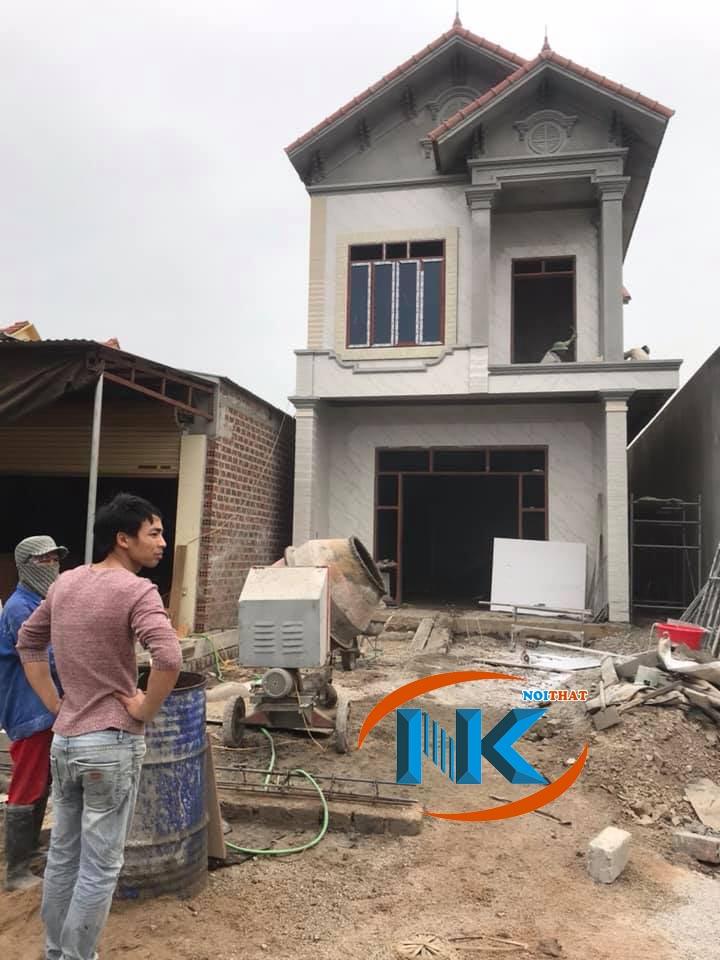 Ngôi nhà Anh Sơn nơi Nội thất Nguyễn Kim thi công tủ bếp