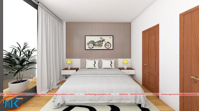 Cách xắp xếp hài hòa, bố trí họa tiết trang trí bắt mắt khỏe khoắn cho phòng ngủ con trai