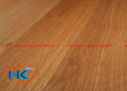 Màu sắc tự nhiên của gỗ sồi mỹ