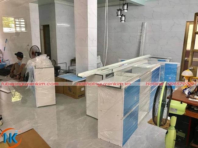 Hình ảnh tủ bếp trước khi thi công tại nhà anh Kỷ, Lệ Thiện, An Dương, Hải Phòng