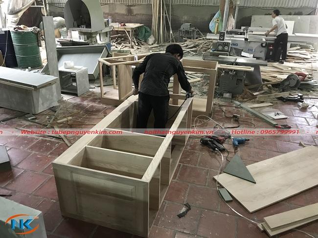 Một góc xưởng sản xuất của Nguyễn Kim