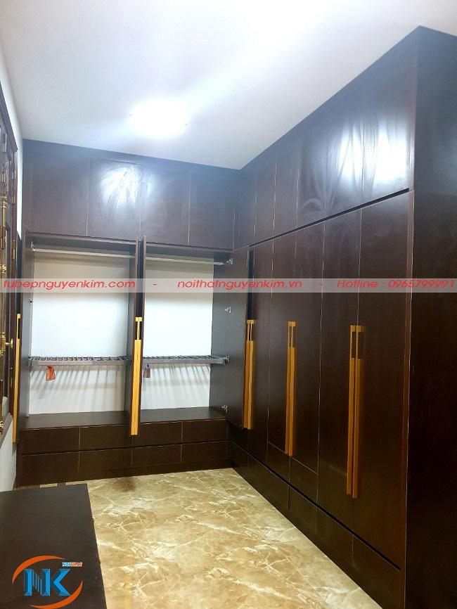 Tủ áo chất liệu gỗ laminate an cường